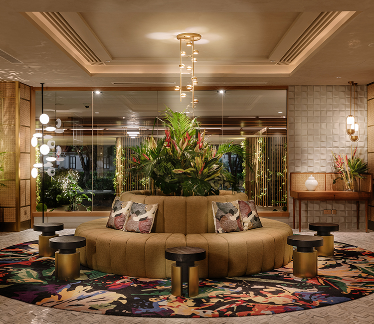 Park Royal Hotel Featuring Kerrie Brown - Emma Maxwell Design